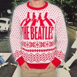 Win The Beatles Abbey Road 50th Anniversary Ugly Christmas Sweater