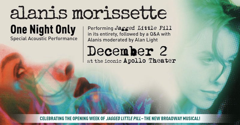 Alanis Morissette announces full album performance of Jagged Little Pill