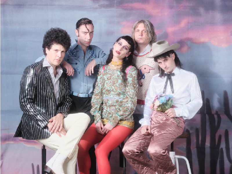 Black Lips New Album Sing in a World That's Falling Apart New Song Gentleman Stream