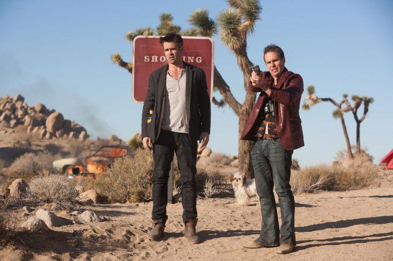 Colin Farrell, Sam Rockwell, Seven Psychopaths, CBS Films