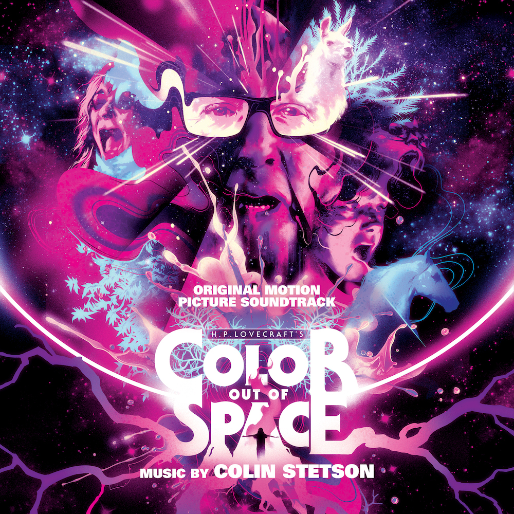 Colin Stetson color out of space soundtrack score nicolas cage trailer album cover artwork