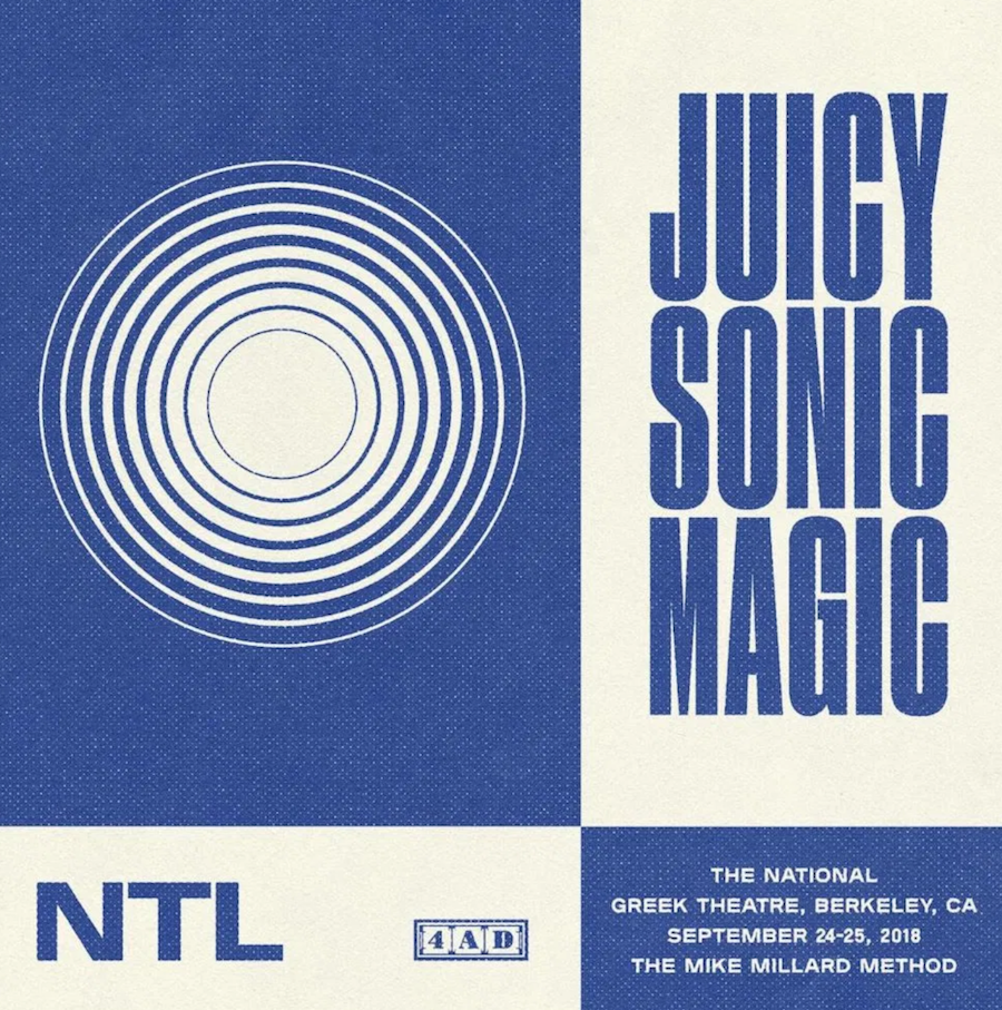 Juicy Sonic Magic The National Artwork