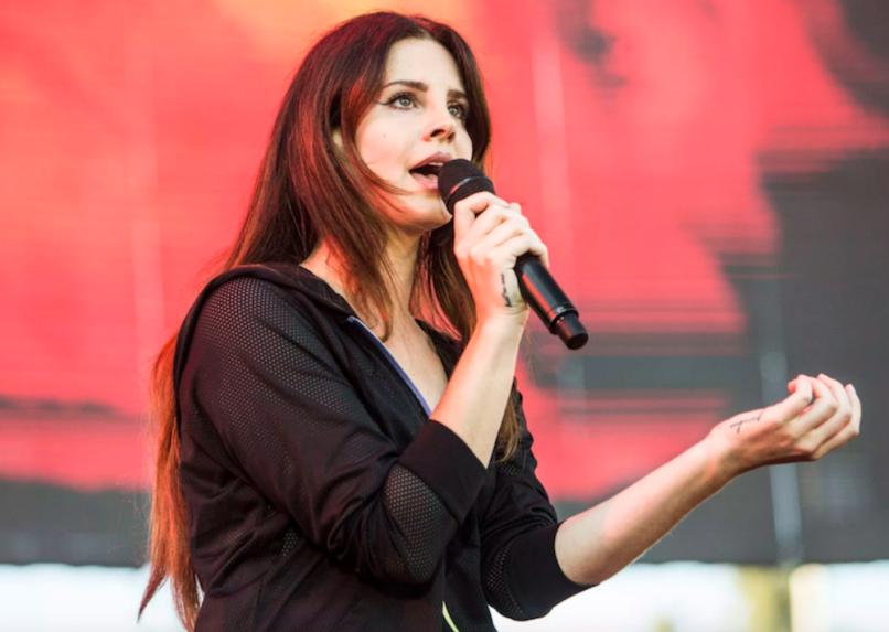 "Lana Del Rey new spoken word album ""freestyle poetry"" 2020, photo by Philip Cosores"