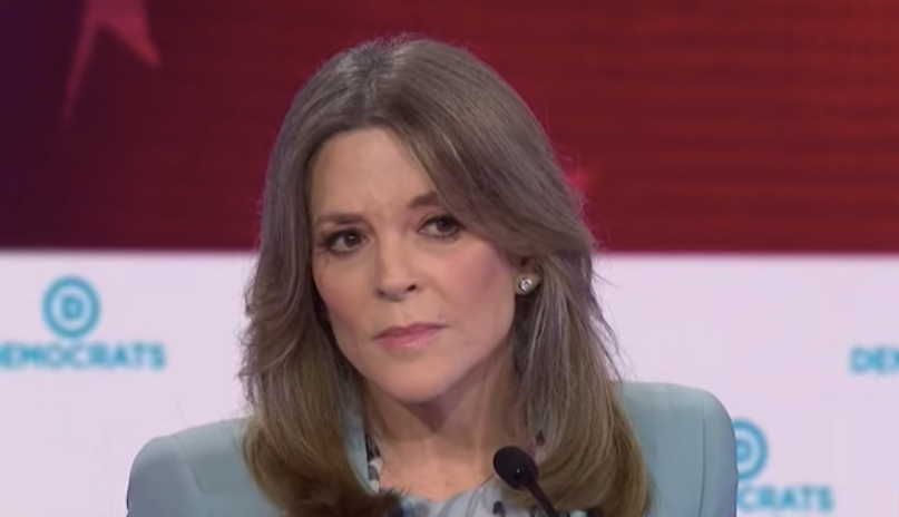 Marianne Williamson Donald Trump Pardoned Charles Manson Tweet Twitter Fake News