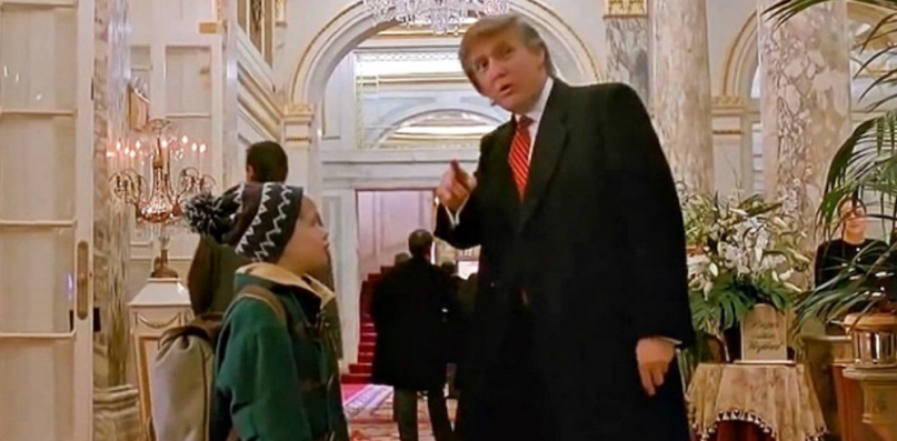 President Donald Trump Home Alone 2 Cameo Cut Removed Canada TV CBC