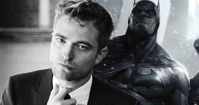 Robert Pattinson and Batman