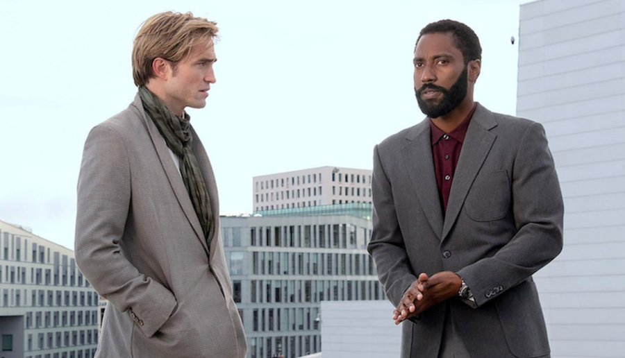 Tenet Christopher Nolan First Look John David Washington Robert Pattinson trailer