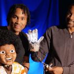 michael jackson musical glove puppet details
