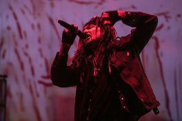 Ministry perform at The Forum