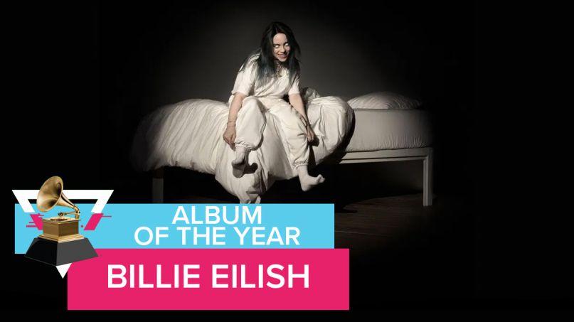 Billie Eilish Album of the Year Grammy Awards 2020