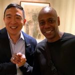 Andrew Yang and Dave Chappelle