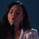 Demi Lovato Grammys 2020 anyone performance watch video