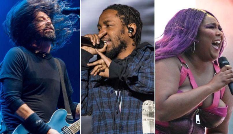 Foo Fighters (David Brendan Hall), Kendrick (Hall), and Lizzo (Amy Price) to play Osheaga 2020