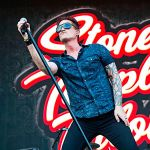 Stone Temple Pilots Jeff Gutt injury