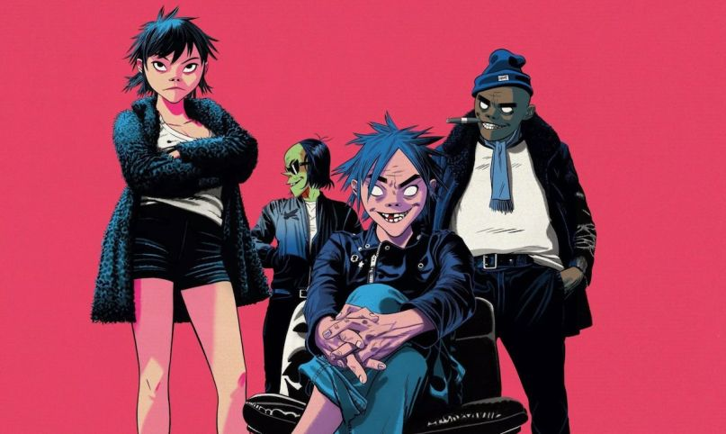 Gorillaz song machine details information premiere