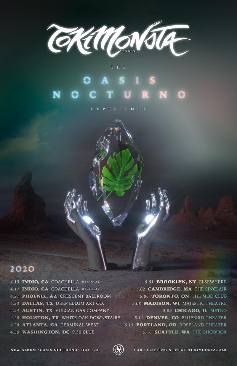 tokimonsta oasis nocturno tour dates tickets TOKiMONSTA announces new album Oasis Nocturno, plots North American tour