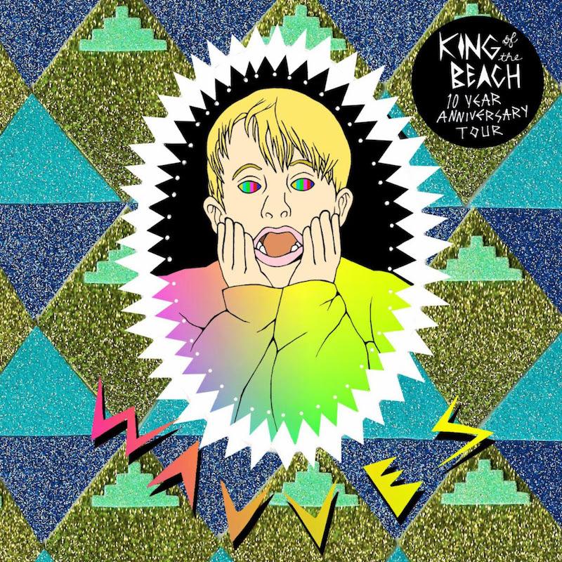 wavves king beach anniversary tour poster Wavves announce King of the Beach 10th anniversary tour