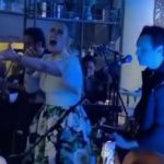 Adele sings at friend's wedding
