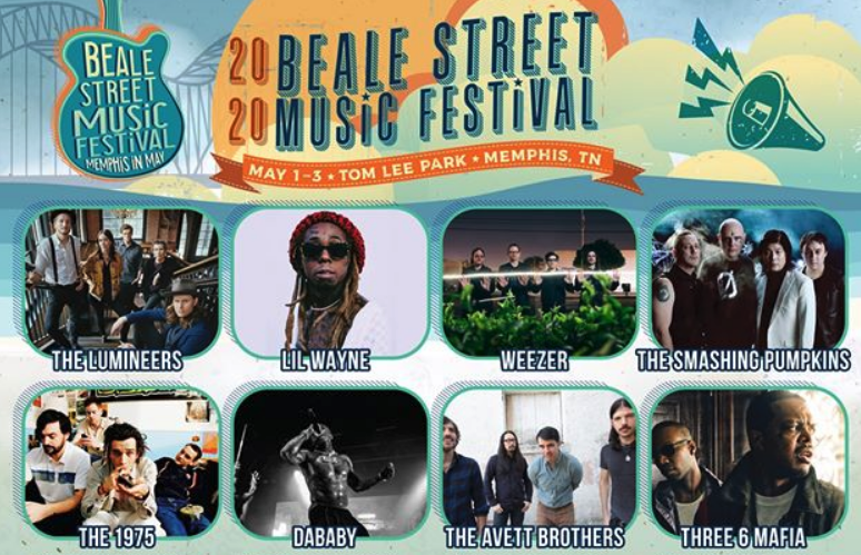 Beale Street Festival 2020 lineup