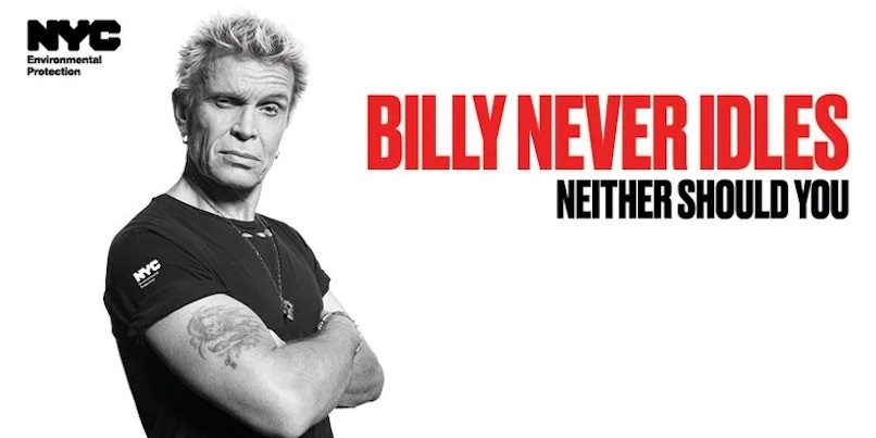 Billy Never Idles