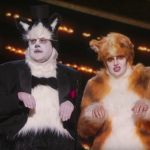 Cats visual effects society Academy Awards CGI James Corden and Rebel Wilson at the 2020 Oscars