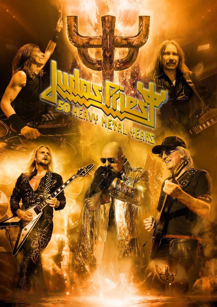 Judas Priest 50th anniversary tour poster