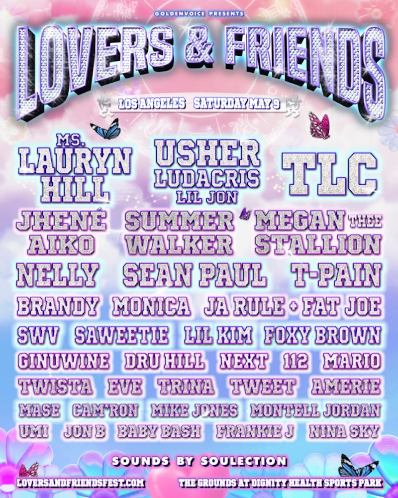 Lovers and Friends poster