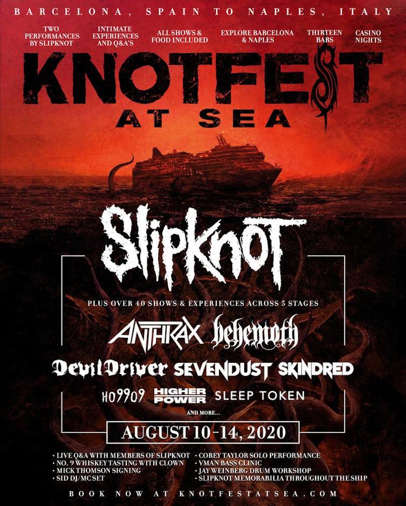 Slipknot at Sea poster
