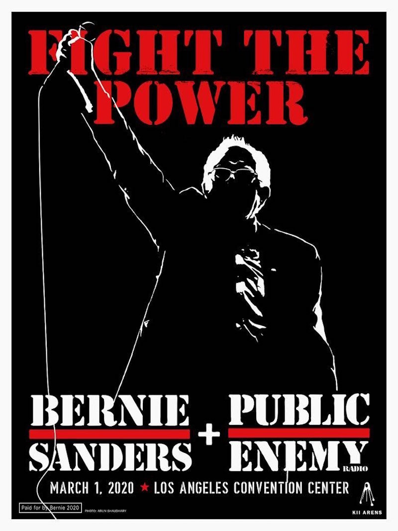 Public Enemy to Perform at Bernie Sanders Fight the Power Rally in Los Angeles