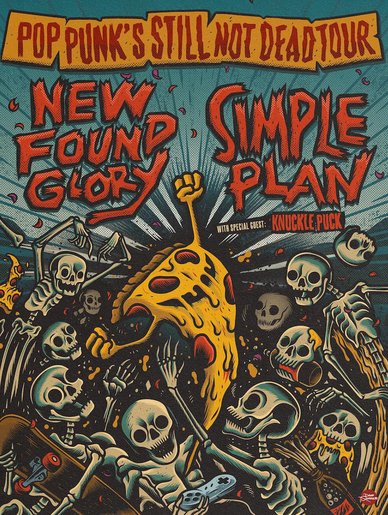 new found glory simple plan tour dates tickets New Found Glory and Simple Plan Announce Pop Punks Still Not Dead Tour