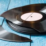 Broken vinyl, photo by Shutterstock