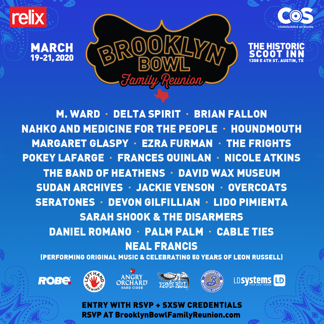 Brooklyn Bowl Family Reunion 2020