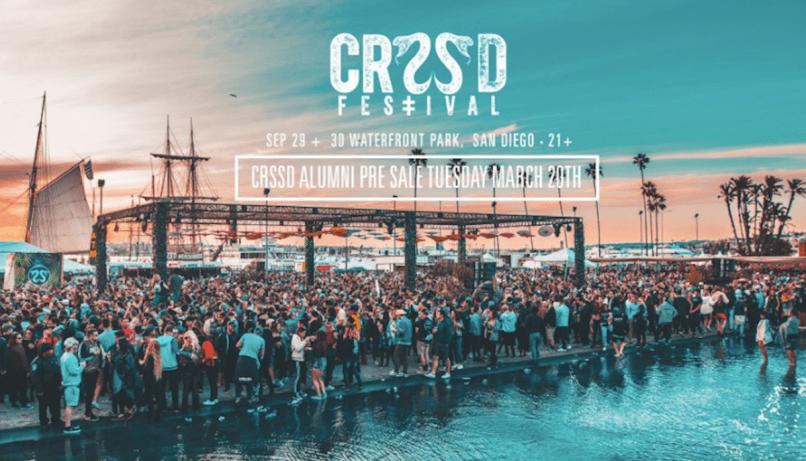 CRSSD Festival Coronavirus Attendees San Diego