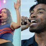 Dua Lipa (photo by Ben Kaye) and BROCKHAMPTON's Kevin Abstract (photo by Amy Price) Brockhampton Sugar tour dates 2020 tickets