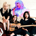 Hayley Williams boygenius Phoebe Bridgers, Julien Baker, Lucy Dacus petals for armor