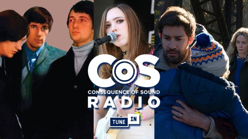 March Consequence of Sound Radio tunein The kinks soccer mommy a quiet place