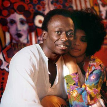 Miles Davis and Betty Davis
