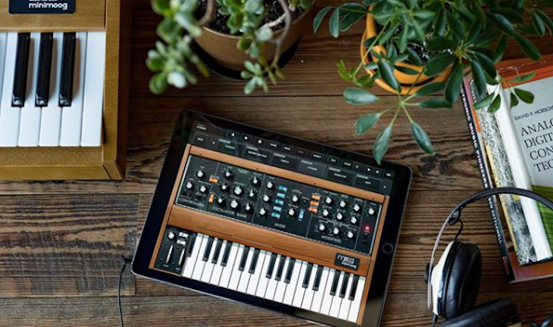 Moog and Korg Synthesizer Apps Free Coronavirus Pandemic Social Distancing