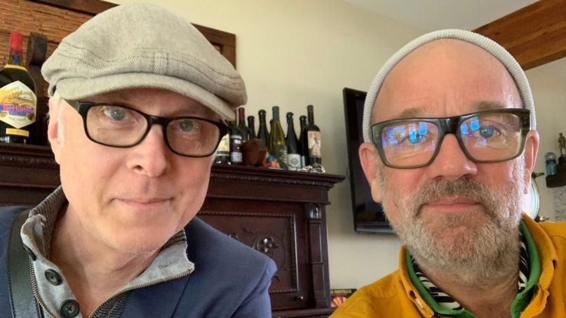 R.E.M. Michael Stipe and Mike Mills Pay Tribute to Late Drummer Bill Rieflin