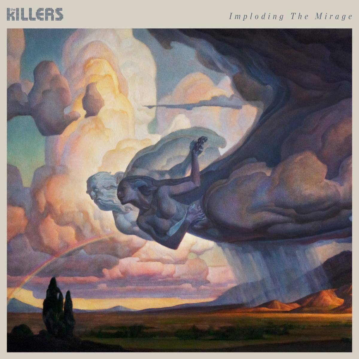 The Killers's Imploding the Mirage album artwork