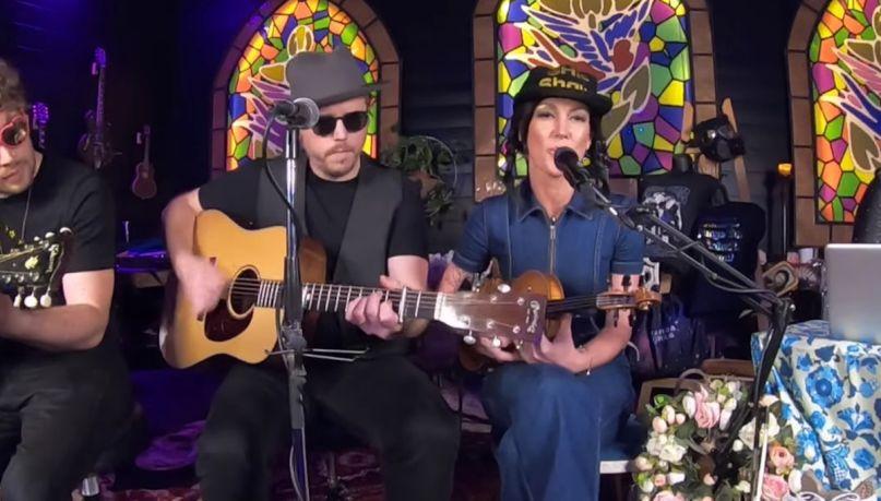jason isbell amanda shires radiohead cover video