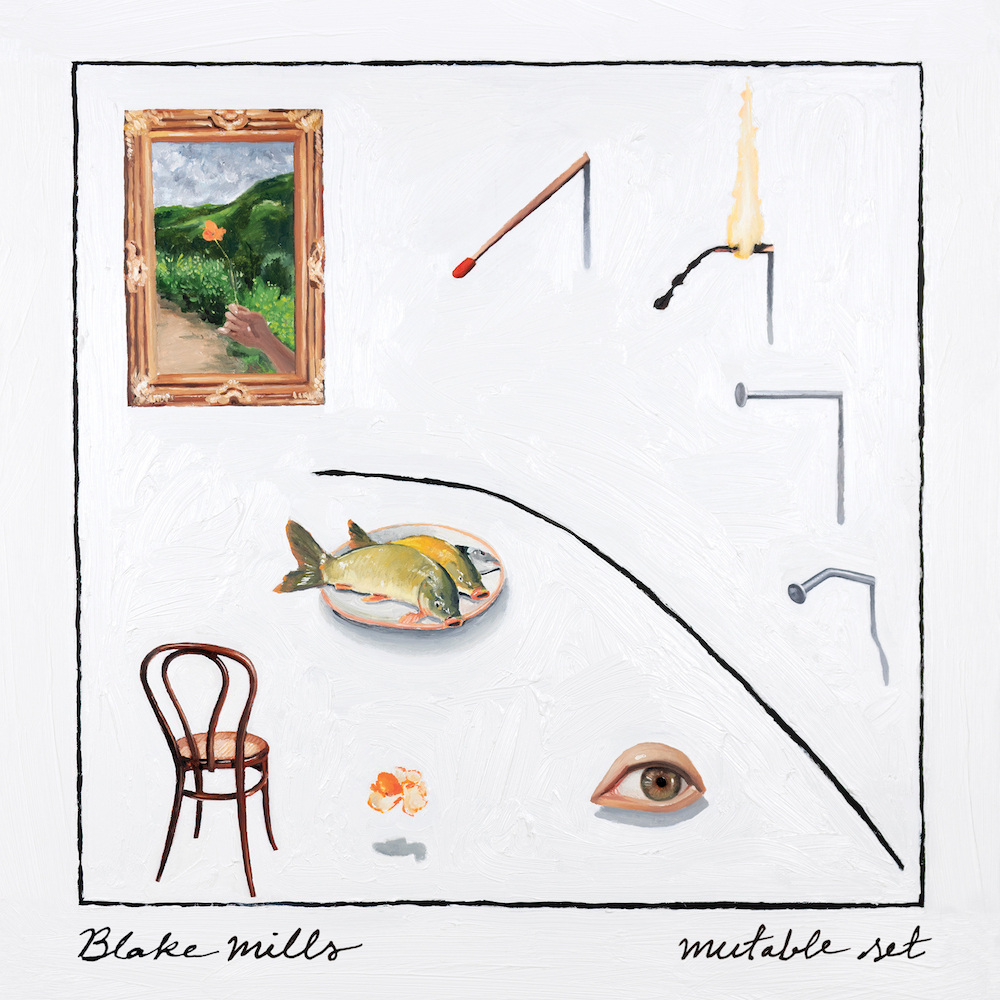 mutable set album artwork blake mills Blake Mills Announces New Album Mutable Set, Shares Vanishing Twin: Stream