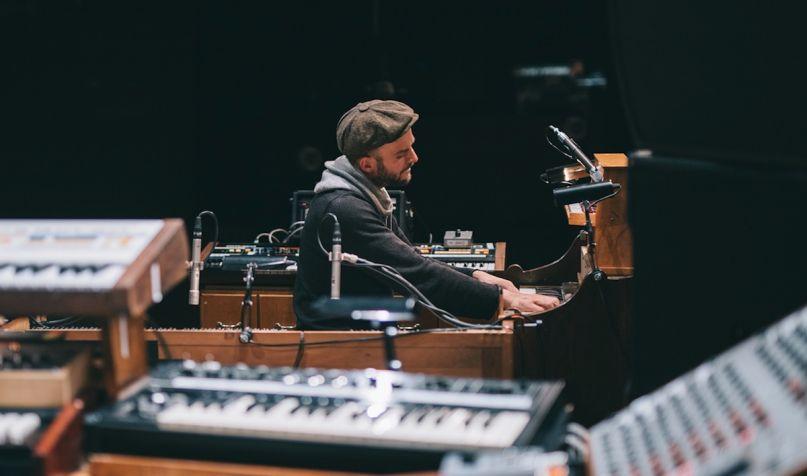nils frahm empty new album release stream
