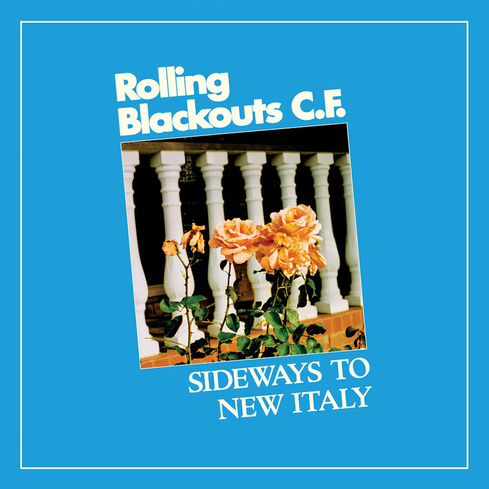 rolling blackouts coastal fever sideways new italy album cover Rolling Blackouts Coastal Fever Announce New Album, Share Shes There: Stream
