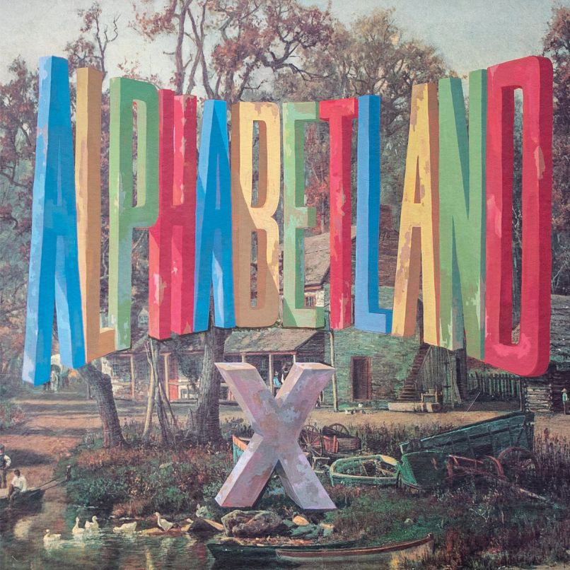 Alphabetland by X album artwork cover art