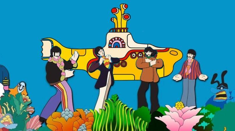 Beatles Yellow Submarine Sing along stream youtube