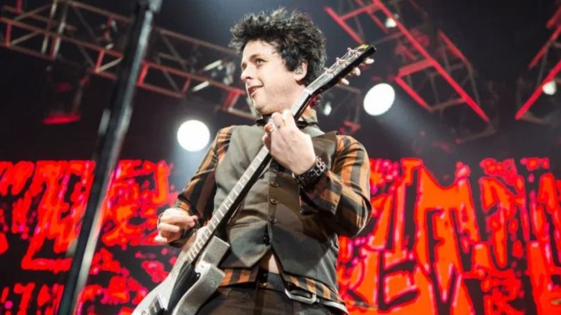 Billie Joe Armstrong That Thing You Do cover song, photo by Philip Cosores