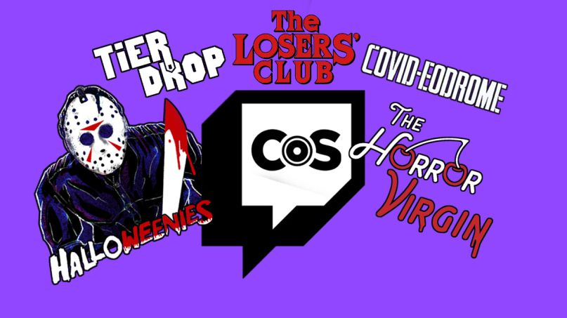 Consequence of Sound Twitch Channel Shows losers club halloweenies horror virgin tiermaker tier drop covid-eodrome