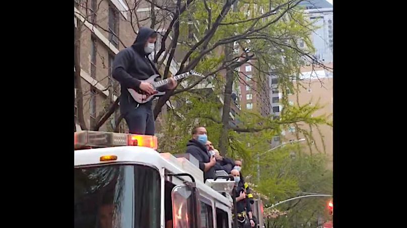 FDNY Firefighter National Anthem Guitar