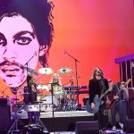 Foo Fighter and Sheila E perform at Prince tribute concert